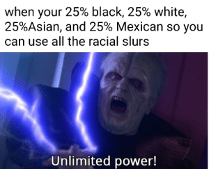 Unlimited power!: Unlimited power!