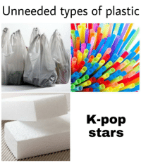 I think of myself as below the average person: Unneeded types of plastic  K-pop  stars I think of myself as below the average person