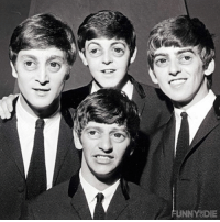 We put Steve Buscemi eyes on The Beatles and it made them look like insects: UNNY8DIE We put Steve Buscemi eyes on The Beatles and it made them look like insects