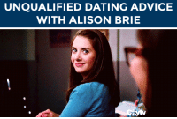 "Advice, Alison Brie, and Dating: UNQUALIFIED DATING ADVICE  WITH ALISON BRIE <h2><b>ALISON BRIE WANTS TO GIVE YOU DATING ADVICE!</b></h2><p>No clue where to go on a first date? Can't decide what that cryptic text means? Have no fear, Alison Brie is here to give you some <b><a href=""https://www.youtube.com/watch?v=YlkKeeMH0-Y"" target=""_blank"">'Unqualified Dating Advice'</a></b>!</p><p>Send us your questions by <b>replying below</b> or submitting questions to our <b><a href=""http://fallontonight.tumblr.com/ask"" target=""_blank"">Tumblr Ask Box</a></b>!  </p><h2><b>Do you need dating advice from Alison Brie?</b></h2>"