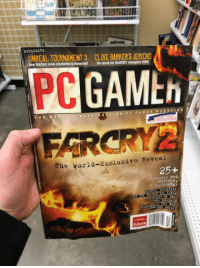 "<p><a href=""http://laughoutloud-club.tumblr.com/post/158349787858/my-local-value-village-was-selling-a-pc-gamer"" class=""tumblr_blog"">laughoutloud-club</a>:</p>  <blockquote><p>My local value village was selling a pc gamer magazine that is over 11 years old</p></blockquote>: UNREAL TOURNAMENT 3  CLIVE BA  JERICHO  .  PC  GAMth  IACUL  LATING  The World-Exclusive Reveal  25+ <p><a href=""http://laughoutloud-club.tumblr.com/post/158349787858/my-local-value-village-was-selling-a-pc-gamer"" class=""tumblr_blog"">laughoutloud-club</a>:</p>  <blockquote><p>My local value village was selling a pc gamer magazine that is over 11 years old</p></blockquote>"