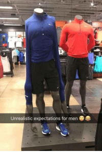 "Memes, Http, and Via: Unrealistic expectations for men <p>Stop The Stereotype via /r/memes <a href=""http://ift.tt/2A59LYl"">http://ift.tt/2A59LYl</a></p>"