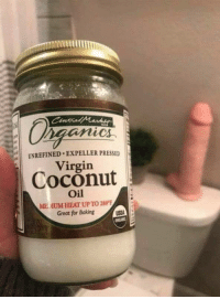 Virgin, Coconut Oil, and Good: UNREFINED EXPELLER PRESSED  Virgin  Coconut  Oil  MEDIUM HEAT UP TO 280°  Great for Baking <p>Has anyone tried coconut oil before&hellip;. is it any good?</p>