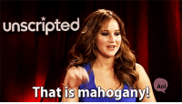 """Http, Aol, and Mahogany: unscripted  Aol  That is mahogany <p>OF COURSE <a href=""""http://ift.tt/1sa06pb"""">http://ift.tt/1sa06pb</a></p>"""