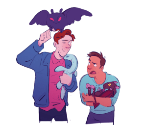 Tumblr, Blog, and Buzzfeed: unsolvedt:this week on buzzfeed unsolved: Ryan and Shane Take Care of Baby Cryptids For The First Time