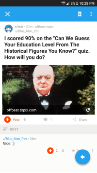 Up D 8 A 1028 Pm Rtest 27m Offbeattopix Ublue Man Pan I Scored 90 On The Can We Guess Your Education Level From The Historical Figures You Know Quiz How Will You Do Offbeattopixcom Vote