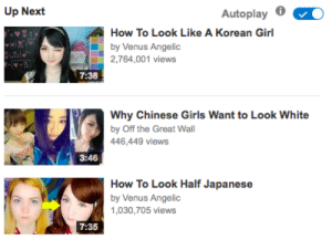 """rangerhanna-56:  hanchinesemeany:  attn: white youtubers stop. we are not your aesthetic. wanna be asian? fine be asian — but don't just take my skin and my eyes, you better take getting """"konnichiwa"""" shouted at you in the streets even though you're not japanese getting asked to speak your language for others as though it were some sort of circus animal trick getting asked about musical and TV genres you don't give two fucks about by some bright eyed cracker who claims to know so much about your culture when all they know is kdramas getting asked """"are you chinese"""" by everyone and their cousin when you're vietnamese, thai, hmong, or other getting told you """"don't look asian"""" because you don't have black hair, small eyes, and lily white skin and hating having to live up to that (and the dark asian girls? where are they in your silly makeup tutorials? oh right, nowhere… i wonder why that is) you better take creepy, crunchy guys telling you about their asian fetish as the grease drips from their faces and you inhale the scent of how many weeks they have gone without washing their ass entire sides of the internet dedicated to fetishizing you, to posting porn about you, even having kinks in which they want you to call them 'daddy' simply because you are asian and not even being able to google 'asian girl' without some fetishy bullshit popping up seeing entire websites dedicated to getting the fetishists those 'submissive asian wives' they want so badly you better take not ever being able to speak your own language without being mocked, getting """"ching chong"""" shouted at you, or asked what random strings of gibberish with an -ong or -ing mean in english… wanna be half asian? fine be half asian — but don't just take my features you better take the tears i cried when i watched a video called """"why asian girls go for white guys"""" because i was living proof that the stereotype is true — an embarrassment you better take how much i hated myself for not being able to fit the stereotype"""