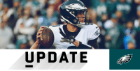 Philadelphia Eagles, Memes, and Sunday: UPDATE .@Eagles QB @NickFoles sustains bruised ribs, expected to start Sunday: https://t.co/fgqI4j1Ykm (via @MikeGarafolo) #PHIvsMIN https://t.co/Hx5UXmt4x0