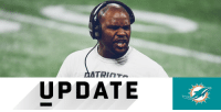 .@MiamiDolphins announce hire of Brian Flores as head coach: https://t.co/wMuUtyJM06 https://t.co/Pn80CJUNkd: UPDATE .@MiamiDolphins announce hire of Brian Flores as head coach: https://t.co/wMuUtyJM06 https://t.co/Pn80CJUNkd
