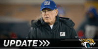 Memes, Toms, and 🤖: UPDATE  my Tom Coughlin is headed back to Jacksonville: (via @RapSheet)