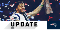 Memes, Patriotic, and Super Bowl: UPDATE .@Patriots safety Patrick Chung undergoes surgery on broken forearm from Super Bowl: https://t.co/5QAAJhIhmY https://t.co/EMq5ifTVXq