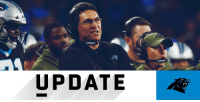 Head, Memes, and Panthers: UPDATE Ron Rivera to return as @Panthers head coach in 2019: https://t.co/bB6hEanc0k (via @MikeSilver) https://t.co/ZZAZq928KZ