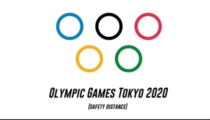 Updated Tokyo Olympic Games logo: Updated Tokyo Olympic Games logo