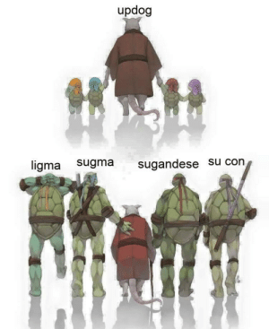How They Grew Up by adagonjinn FOLLOW HERE 4 MORE MEMES.: updog  ligma sugma sugandese su cong How They Grew Up by adagonjinn FOLLOW HERE 4 MORE MEMES.