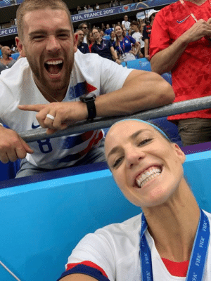Julie Ertz just won the World Cup and husband Zach Ertz was so hyped ❤️ (B/R Gridiron): UPE DU  FIFA, FRANCE 2019  RUdas  FIFA  IFA  FA FIFA FIFA FIFA Julie Ertz just won the World Cup and husband Zach Ertz was so hyped ❤️ (B/R Gridiron)