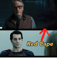 Yes, Alfred IS talking to Superman in that scene.: @upeomingdeeu  Red Cape Yes, Alfred IS talking to Superman in that scene.