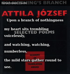 Attila József Perched On Nothings Branch Selected Poems Of