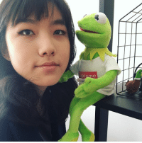 Hello, Hypebeast, and Life: upreme Hello, please enjoy Hypebeast Kermit whispering sweet nothings into my ear + other happenings from the past few weeks of my life feat. people i love very much + a donut made of spaghetti