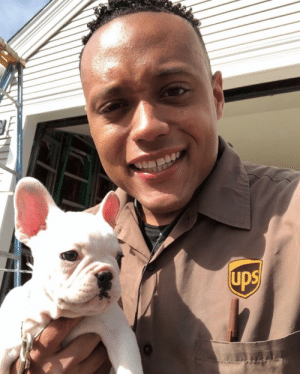 ups-dogs:  Best part of the job! Hanging with furry friends, Robert from Yarmouth, MA: ups-dogs:  Best part of the job! Hanging with furry friends, Robert from Yarmouth, MA