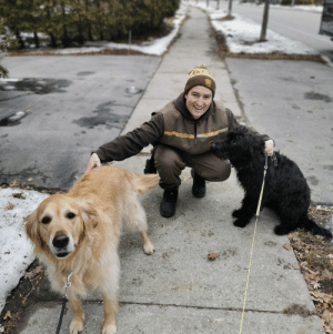 ups-dogs:Here's a picture taken today with my 2 favourite neighborhood dogs.CurtisMississauga ON Canada@telusmonkey: ups-dogs:Here's a picture taken today with my 2 favourite neighborhood dogs.CurtisMississauga ON Canada@telusmonkey