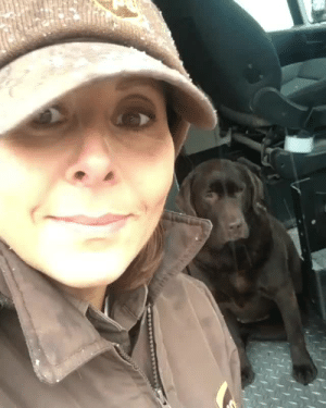 ups-dogs:My name is Liana @lianaduncan - I have been delivering with UPS for 18 years and always love running into all the pups on my run! This just makes my day 😀🐶 : ups-dogs:My name is Liana @lianaduncan - I have been delivering with UPS for 18 years and always love running into all the pups on my run! This just makes my day 😀🐶