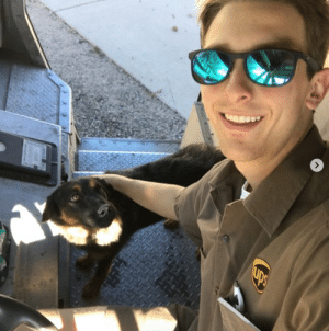 ups-dogs:These are photos of my buddy Eric Nocon in Colorado. He met a new friend named Sadie who would not leave his truck. Lol if dog napping wasn't a thing, she'd be his. Lol thanks Randy: ups-dogs:These are photos of my buddy Eric Nocon in Colorado. He met a new friend named Sadie who would not leave his truck. Lol if dog napping wasn't a thing, she'd be his. Lol thanks Randy