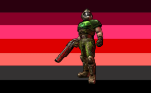 Slayer, Tumblr, and Blog: urfavhatesterfs:  DOOMGUY/DOOM SLAYER from DOOM hates terfs!requested by @lowlyanon and @thed00mkitten