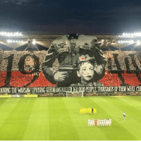 Memes, Brilliant, and 🤖: URING THE WARSAW UPRISING GERMANSKIL  PEOPLE THOUSANDS OF THEM WERE CH  KARNETYV  KARNETY VIP 2017/18biznes legla.cem Brilliant from Legia Warsaw fans 👏 https://t.co/rBTqpJHvpw
