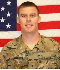 Honoring Army Chief Warrant Officer Nicholas S. Johnson who selflessly sacrificed his life five years ago today in Afghanistan. RIP Hero 🇺🇸 https://t.co/a8ZCo1qgqB: US ARM Honoring Army Chief Warrant Officer Nicholas S. Johnson who selflessly sacrificed his life five years ago today in Afghanistan. RIP Hero 🇺🇸 https://t.co/a8ZCo1qgqB