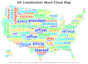"The Best Country Made from the Best Document.: US Constitution Word Cloud Map  will  writtengiven  chlef  foreign  ability  attect  LPay te dain  a chosen  ferthprofit  b part  sole  title  held  class death  Oan rebellion  consistbecome econ  legislatureprovide  receive next  session  co ral  Facto  militia  exclusive  ballot  necessary passed taxes emolument  forfeiture  least debate.  Power duties  authority First  prescribe  page  sold compensation  relating  actual  majority promote  hypertinked ular attainder  happen  confederation  place  day  section  executiveeitherkeep.  valid  open  vedslace removal  P whose p tion  holding  safety  think  alone  ted authors  trial  entitled  a tax  Letters  perfect  wear  chusing  expiration  Court  gfollowing  s longer  fourth appointh  throughoutoting  every presidentimpeachment  ii  objectionsequires  rule  appointmentregulation  three  concurrence fled attendance treaties interlined  ""impotows  Within membe  together behaviour  proceo olution convicțedhoice  made  service  represêntativeime e returneed  Iconstitution:officermanner  eight CICizeN union  use  O names  - punish  • ratification  construed  mgrat  levying equally pest  pal execute  dear second direct  Vote senateministers u  display  navy  oath  deie coin act stated  U ""inhabitant Postexcend neither measures  particular  disorderiy  determined oession  classes privilege • Uniform  north  people  collect  continuance  Priorconsequence whereof imports qualification whole word six  inferior invaded  unitedyean thirdtwo  appointed. ""affecting  four mOney thereby  teate entered  controversies  siving felony  fifth  journal  execution  jury  greatest  nobility purposes  nations  officetreason  cartt, Pass seat  sealed Vacancies  termstatechuse  constitute requisite found  IV  overt affirmatjon  question  ten laid  may ishallpublici  Five house articlebill-timeonei  without Case =law number  forty convened resident  COnsent  herein unleSSiustic  re ambassadors  created respectively  different ine judgment  Vice Senator  amendment bound mmediately ided  offences  vested  importation  Formedeaker  exceed  secretaryproper claim jurisdicțion  information value  solensl  orotectE  domestic granted nginal  preserve  employed  Elanger  debtsine establishi according de  attainedsuffrage  - troops  exercise  directened  exports committed0  removed.aid ommerce credit  suppor  thirty thereof  ""except""  I lelection.sa,  trust new Party respective  --judge,  archivesn enumeration  appropriation  lay  reserving  divided  connecticut  