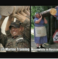 russia: US Marine Training Meanwhile in Russia russia