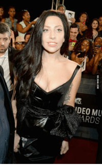 Lady Gaga at the VMAs looking simple as f**k