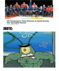 "Dank, Meme, and Http: US Paralympics Team Refuses to Stand During  Star Spangled Banner  ncscooper. com  IROTC:  @theacidtest  0 <p>yeet via /r/dank_meme <a href=""http://ift.tt/2yCuOMR"">http://ift.tt/2yCuOMR</a></p>"