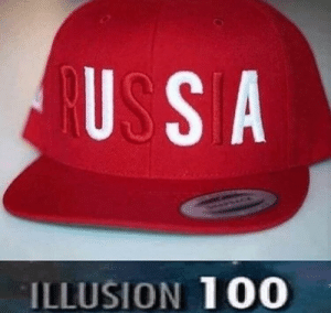 Say cyka blyat for mother Russia!: US S A  ILLUSION 100 Say cyka blyat for mother Russia!
