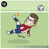 Memes, Bicycle, and 🤖: us  Torres  www.facebook.com/Justtoonit Torres Amazing Bicycle Kick :o เมื่อคืนพี่ตอสยิงท่ายาก