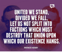 Don't fight each other. Fight corruption.: Us  UNITED WE STAND,  DIVIDED WE FALL,  LETUS NOT SPLIT INTO  FACTIONS WHICH MUST  DESTROY THAT UNION UPON  WHICH OUR EXISTENCE HANGS  PATRICK HENRY Don't fight each other. Fight corruption.