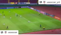 Memes, 🤖, and Usa: USA 1-0 SLV  O 24:24  M us soccer  tl  USP  us soccer ynt 🚀⚽👏 Repost @ussoccer with @repostapp ・・・ Are you serious, Eryk Williamson? 😱 Stop what you're doing and watch this incredible U-20 USMNT goal. Trust us! 🔥