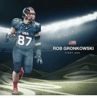 If football was an olympic sport... 😍: USA  ROB GRONKOWSKI  T I G H T E N D If football was an olympic sport... 😍