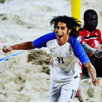 USA The @concacaf quarter-final line-up in the FIFABeachSoccer WorldCup qualifiers is now set. The top two qualify for the finals in The Bahamas, 27 April - 7 May. 🇸🇻 v 🇯🇲. 🇺🇸 v 🇵🇦. 🇲🇽 v 🇹🇹. 🇧🇸 v 🇬🇵. Swipe ⬅️ for more 📸. ElSalvador Jamaica USA Panama Mexico trinidadandtobago bahamas guadeloupe sand sea scissorkicks