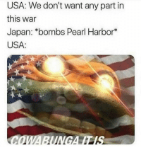 Empire, Japan, and Pearl Harbor: USA: We don't want any part in  this war  Japan: *bombs Pearl Harbor*  USA: The United States declaring war on the Japanese empire (1941 colorized)