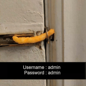 admin:password: Username admin  Password admin admin:password