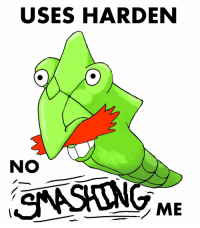 USES HARDEN  NO  ONASAONG ME I was inspired by the Nigel faced pokemon page.