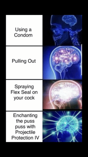 Play the craft, get the shaft by SentinelSchreib FOLLOW 4 MORE MEMES.: Using a  Condom  Pulling Out  Spraying  Flex Seal on  your cock  Enchanting  the puss  puss with  Projectile  Protection IV Play the craft, get the shaft by SentinelSchreib FOLLOW 4 MORE MEMES.
