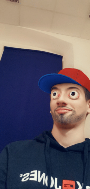 Using a Snapchat filter and you can't stop me: Using a Snapchat filter and you can't stop me
