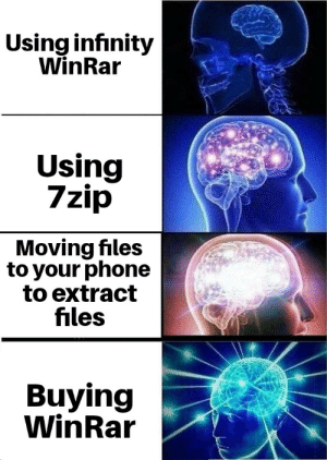 Using Infinity WinRar Using 7zip Moving Files to Your Phone to