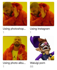 Instagram, Photoshop, and Thank You: Using photoshop...  Using Instagram  Using photo albu.. Waluigi porn Thank you to anyone that smiles or laughs