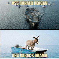 America, Memes, and Obama: USS RONALD REAGAN  USS BARACK OBAMA Repost from @therepublicandaily This comparison is quite accurate. Restoring the country after 8 years of Obama tyranny is going to be a long road therepublicandaily republicandaily republican conservative conservatives republicans USA America Patriotic RepublicanParty Trump DonaldTrump MakeAmericaGreatAgain government AmericanDream Libtards Liberals politicallyincorrect Obama Reagan BuildTheWall
