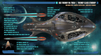 """<p><a class=""""tumblr_blog"""" href=""""http://startrekships.tumblr.com/post/144200836277"""">startrekships</a>:</p> <blockquote> <p><a href=""""http://auctor-lucan.deviantart.com/art/Theurgy-class-Starship-Schematics-Dorsal-View-587494357"""">Theurgy-class Starship Schematics 