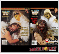 "GO FIGURE! This is  One of the coolest things I've seen in a while – the re-enactment of the October 1996 #WWE magazine cover with Mattel Elite action figures. There is a really good chance no one even remembers this bizarre bond between Mankind and Golddust – and there is a good explanation for that.  Gold dust and I were just thrown together is a tag team for a series of how shows against The Undertaker & Shawn Michaels.  The first time we did one of these promos, I sang ""Close to You"" to Goldust. Come on, you know the tune - "" why do birds suddenly appear, every time you're near? Just like me, they long to be, close to you! Ah, ah, ah, ah, close to you.""  Now imagine it in that worldly screechy Mankind voice, with Goldust stroking my hair.  It was weird. Really weird. But a good kind of weird – and then things just got weird or when I started referring to him as ""Mommy"".  Our teaming freaked people out and how shows wherever we are., but we never actually did promos together on #Raw or #Superstars.  It was just one of those things it clicked – but  we never really got the chance to freak people out on a national level. So that cover has always struck me as being a very cool oddity that I look back on with great fondness.  I hope you enjoy it as well.    I am really glad to see Goldust returning to his eerie, freaky roots  after turning into a logical voice of reason these best for years. I thought  his teaming with brother Cody Rhodes resulted in one of the best  feuds of the year in 2013, and that match with Dusty  in their corner, and their jobs on the line was one of those rare matches that had me jumping up from the couch, cheering! So, yes,  logical levelheaded Goldust was great, but his turn on R Truth feels like a rebirth -  and one of those things that will make me specifically tune in as a fan.    Let me know if you have a favorite Goldust moment,  or what your first impressions of this iconic character were  in the comments below.  After two months on  The shelf recovering from a hip replacement, I'm venturing out for a few dates on the road. You can catch me at signings in #SAUGUS #BOSTON MA on June 17,  #UNIONDALE #LongIsland on July 1 & 2 as well as #NILES OH, #TROY NY, #JOPPA MD, #FISHKILL NY, #FortLauderdale FL and #DUBLIN #IRELAND & #BELAST UK. For details & tickets, go to http://realmickfoley.com: UST ALC  THE KID BENEATH HIS WINGS:  THE STORY OF SHAWN AND JOSE  WRESTLING  COM  TH  GOLOU  IRL  IIGSIDE  COLLECTIBLES  THE KID BENEATH KDS WINGS  THE STORY OF SHAWNS AND JOSE GO FIGURE! This is  One of the coolest things I've seen in a while – the re-enactment of the October 1996 #WWE magazine cover with Mattel Elite action figures. There is a really good chance no one even remembers this bizarre bond between Mankind and Golddust – and there is a good explanation for that.  Gold dust and I were just thrown together is a tag team for a series of how shows against The Undertaker & Shawn Michaels.  The first time we did one of these promos, I sang ""Close to You"" to Goldust. Come on, you know the tune - "" why do birds suddenly appear, every time you're near? Just like me, they long to be, close to you! Ah, ah, ah, ah, close to you.""  Now imagine it in that worldly screechy Mankind voice, with Goldust stroking my hair.  It was weird. Really weird. But a good kind of weird – and then things just got weird or when I started referring to him as ""Mommy"".  Our teaming freaked people out and how shows wherever we are., but we never actually did promos together on #Raw or #Superstars.  It was just one of those things it clicked – but  we never really got the chance to freak people out on a national level. So that cover has always struck me as being a very cool oddity that I look back on with great fondness.  I hope you enjoy it as well.    I am really glad to see Goldust returning to his eerie, freaky roots  after turning into a logical voice of reason these best for years. I thought  his teaming with brother Cody Rhodes resulted in one of the best  feuds of the year in 2013, and that match with Dusty  in their corner, and their jobs on the line was one of those rare matches that had me jumping up from the couch, cheering! So, yes,  logical levelheaded Goldust was great, but his turn on R Truth feels like a rebirth -  and one of those things that will make me specifically tune in as a fan.    Let me know if you have a favorite Goldust moment,  or what your first impressions of this iconic character were  in the comments below.  After two months on  The shelf recovering from a hip replacement, I'm venturing out for a few dates on the road. You can catch me at signings in #SAUGUS #BOSTON MA on June 17,  #UNIONDALE #LongIsland on July 1 & 2 as well as #NILES OH, #TROY NY, #JOPPA MD, #FISHKILL NY, #FortLauderdale FL and #DUBLIN #IRELAND & #BELAST UK. For details & tickets, go to http://realmickfoley.com"