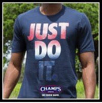 Memes, Nike, and Sports: UST  CHAMPS  SPORTS  WE KNOW GAME Americana by Nike now at Champs! Happy 4th of July! 🇺🇸